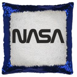 Подушка-хамелеон NASA logo
