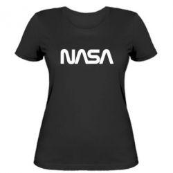 Жіноча футболка NASA logo