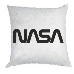 Подушка NASA logo