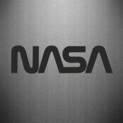 Наклейка NASA logo