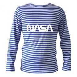 Тільник з довгим рукавом NASA logo