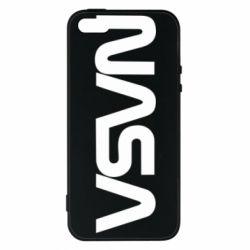 Чохол для iphone 5/5S/SE NASA logo