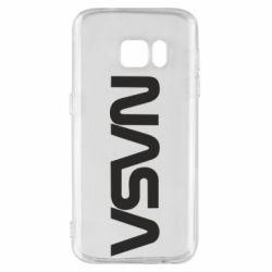 Чохол для Samsung S7 NASA logo