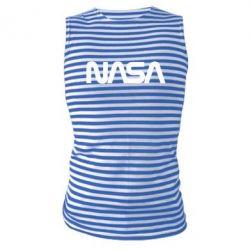 Майка-тільняшка NASA logo