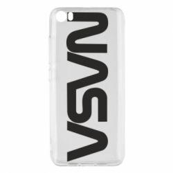 Чохол для Xiaomi Mi5/Mi5 Pro NASA logo