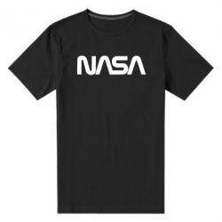 Чоловіча стрейчева футболка NASA logo