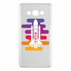 Чохол для Samsung A7 2015 NASA rocket in space