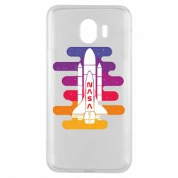 Чохол для Samsung J4 NASA rocket in space