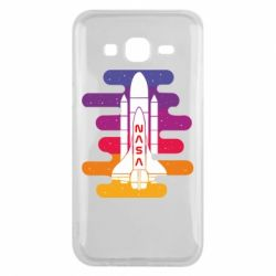 Чохол для Samsung J5 2015 NASA rocket in space