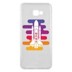 Чохол для Samsung J4 Plus 2018 NASA rocket in space