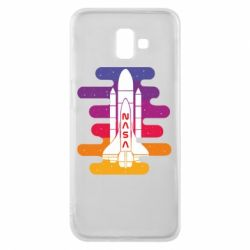 Чохол для Samsung J6 Plus 2018 NASA rocket in space