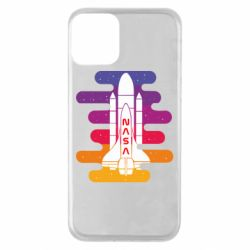 Чохол для iPhone 11 NASA rocket in space