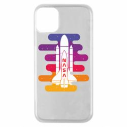 Чохол для iPhone 11 Pro NASA rocket in space
