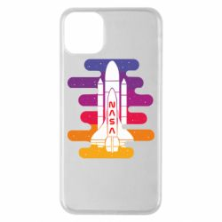 Чохол для iPhone 11 Pro Max NASA rocket in space