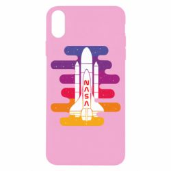 Чохол для iPhone X/Xs NASA rocket in space