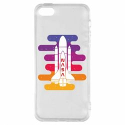 Чохол для iphone 5/5S/SE NASA rocket in space
