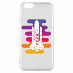Чохол для iPhone 6/6S NASA rocket in space
