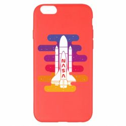 Чохол для iPhone 6 Plus/6S Plus NASA rocket in space