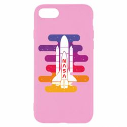 Чохол для iPhone 7 NASA rocket in space