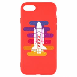 Чохол для iPhone 8 NASA rocket in space