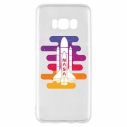 Чохол для Samsung S8 NASA rocket in space