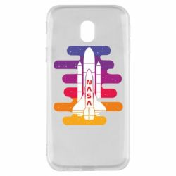 Чохол для Samsung J3 2017 NASA rocket in space