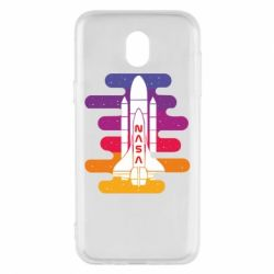 Чохол для Samsung J5 2017 NASA rocket in space