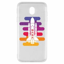 Чохол для Samsung J7 2017 NASA rocket in space