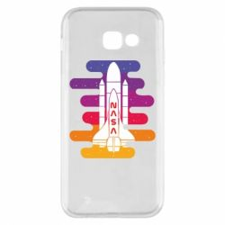 Чохол для Samsung A5 2017 NASA rocket in space