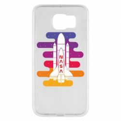 Чохол для Samsung S6 NASA rocket in space