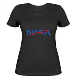 Жіноча футболка Nasa semicircle