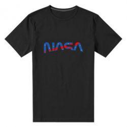 Чоловіча стрейчева футболка Nasa semicircle