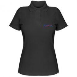 Жіноча футболка поло Nasa semicircle
