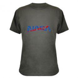 Камуфляжна футболка Nasa semicircle
