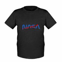 Дитяча футболка Nasa semicircle