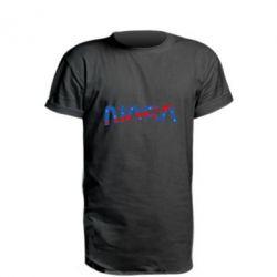 Подовжена футболка Nasa semicircle