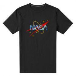 Чоловіча стрейчева футболка Nasa Wan Gogh