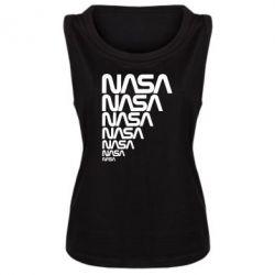 Женская майка NASA