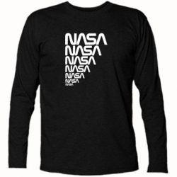 Футболка с длинным рукавом NASA