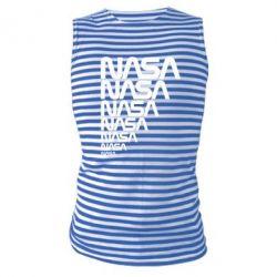 Майка-тельняшка NASA