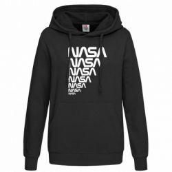 Женская толстовка NASA