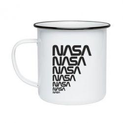 Кружка эмалированная NASA