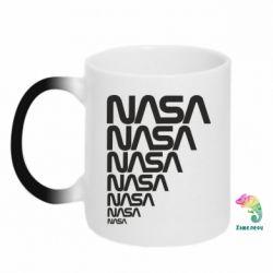 Кружка-хамелеон NASA