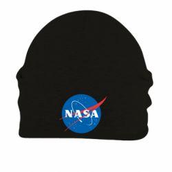 Шапка на флисе NASA