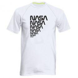 Мужская спортивная футболка NASA