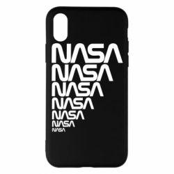 Чехол для iPhone X/Xs NASA