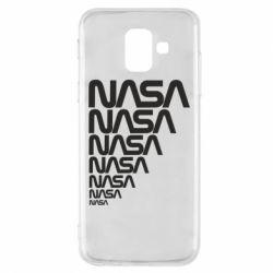 Чехол для Samsung A6 2018 NASA