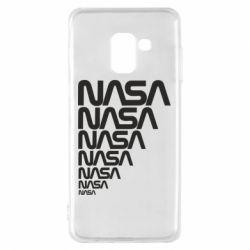 Чехол для Samsung A8 2018 NASA