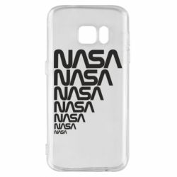 Чехол для Samsung S7 NASA