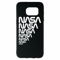 Чехол для Samsung S7 EDGE NASA
